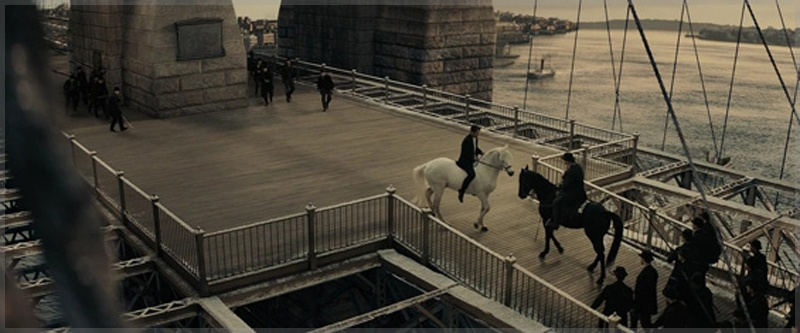 Pearly Soames Short Tails Trap Peter and Athansor on the Brooklyn Bridge