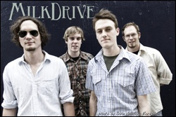 MilkDrive are a four member jazz grass band from Austin Texas