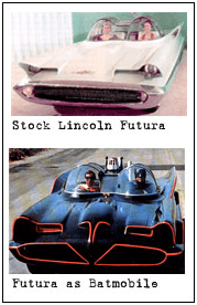 The original Batmobile from concept to car