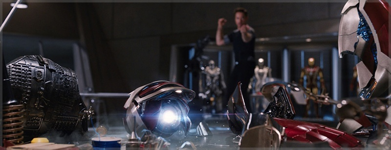 Tony Stark Testing Repulsor Technology as Extremis