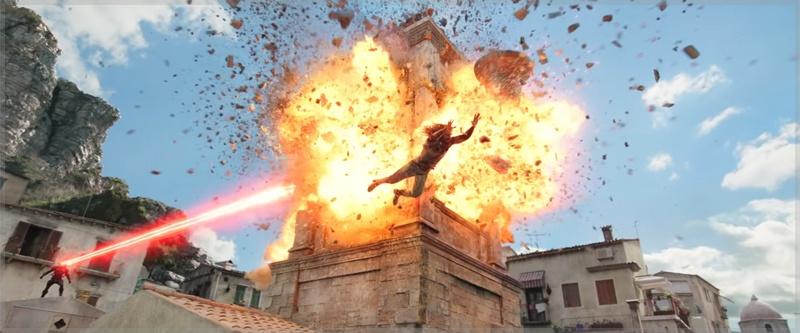 Aquaman features unique film locations. Black Manta pursues Arthur Curry in Sicily