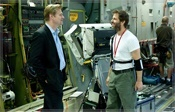 Christopher Nolan visits Man of Steel Set