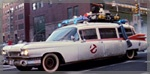 Ecto 1 on the streets of Manhattan