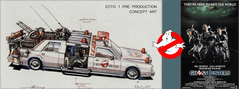 The Ecto 1 Concept Art