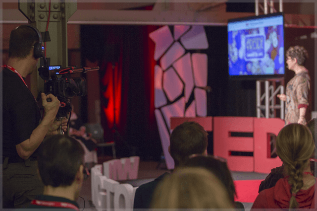 Lars Hindsley Filming Tedx