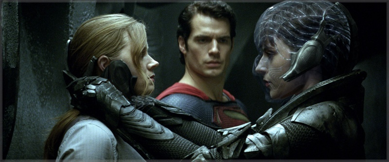 SuperMan Louis Lane and Faora-Ul