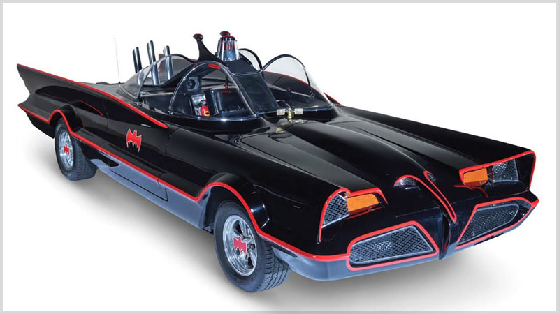 Real Barris 66 Batmobile