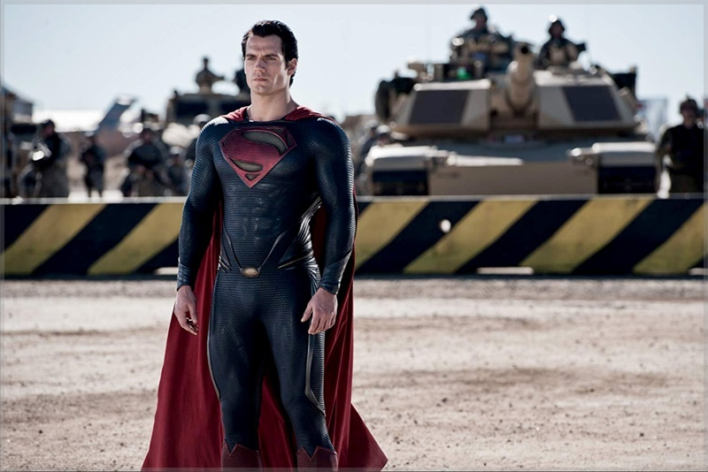 Superman awaits Faora-Ul