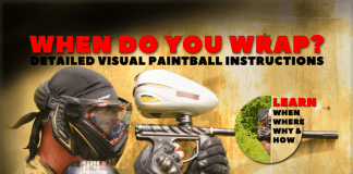 Learn To Wrap A Paintball Bunker