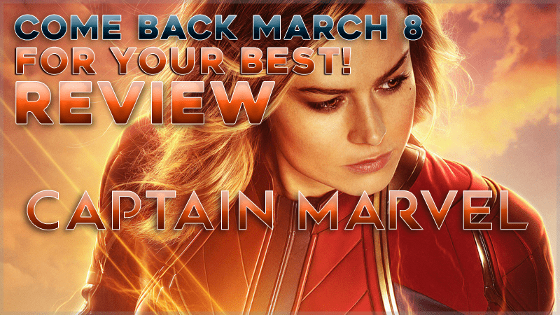Are you excited to see the New Marvel Captain Marvel Movie? So are we!