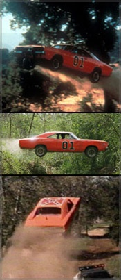 Dukes of Hazzard General Lee In Action
