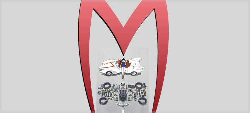 Speed Racer under Mifune Logo