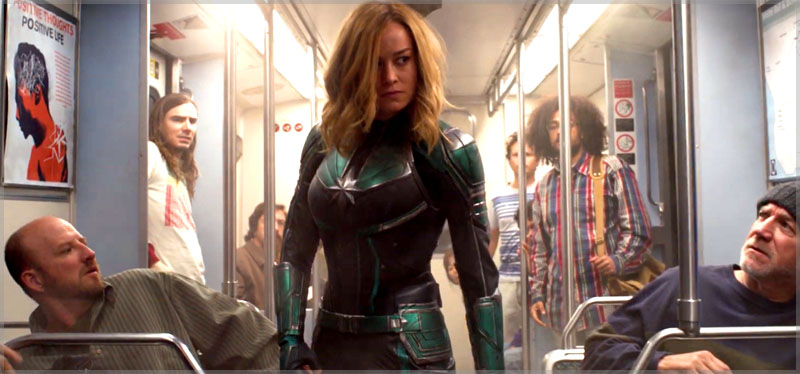 Is This Coincidence or a Trend - Men in Captain Marvel are Shown Up Constantly