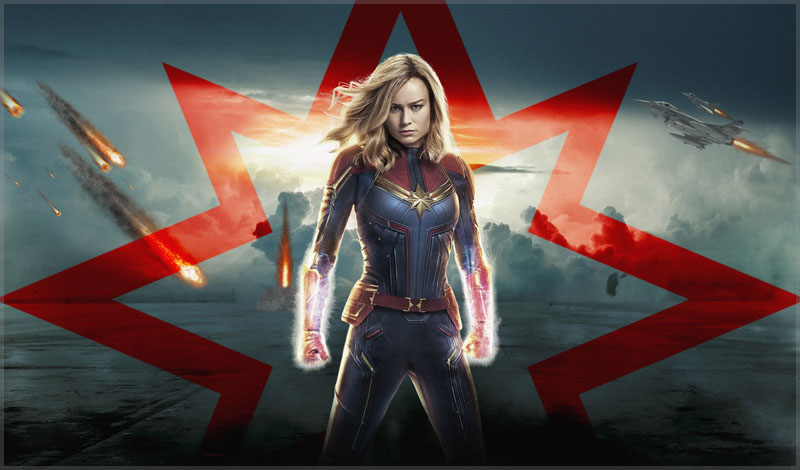 Brie Larson is a good Captain Marvel