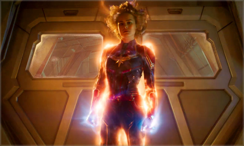 Carol Danvers Powers Up as Captain Marvel