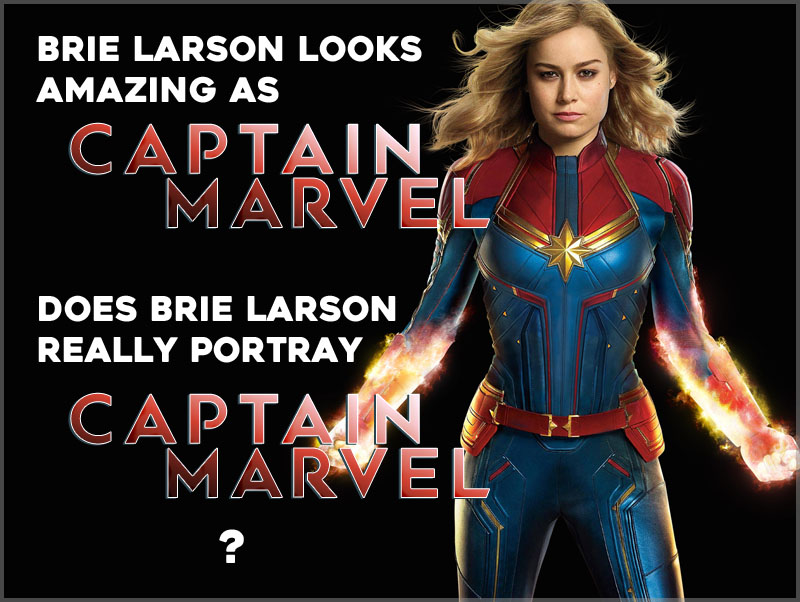 The MCU Captain Marvel is far from the comicbook character