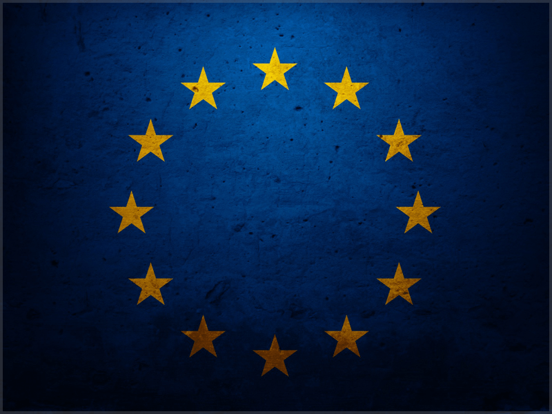 EU Textured Flag