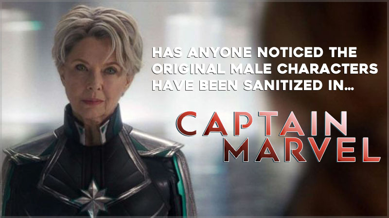 Marvel's MCU retcons Mar Vel as a Female. Why not.