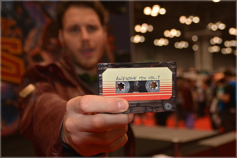 Starlord & Awesome Mix Tape at NYCC