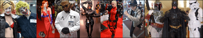 Cosplay Montage from New York Comic-Con
