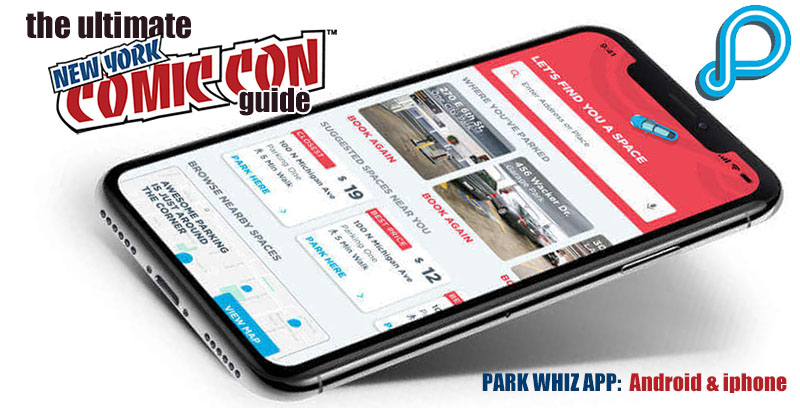 Park Whiz is a Great Tool For Your NY Comic-Con Trip