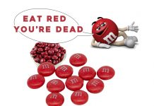Red M&M's Will Kill You