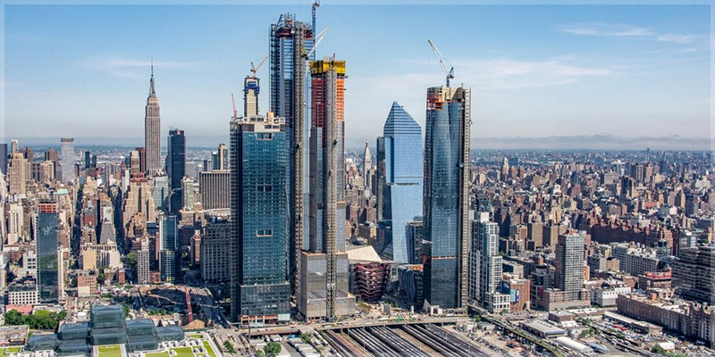 Hudson Yards sky view