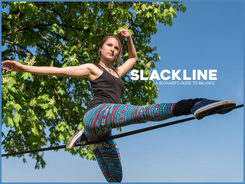 Beginner's Guide to Slackline by Sarah Elyese Allen